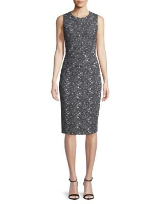 Floral-Print Sheath Dress by Ivanka Trump