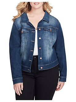 65f77f69970 QUICK VIEW. Jessica Simpson. Plus Pixie Jacket