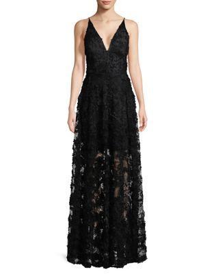 Sleeveless Floor-Length Dress by Xscape