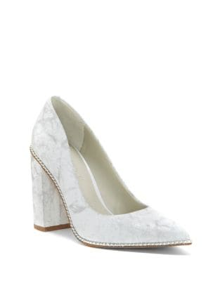 Verdia Leather Pumps by 1.STATE