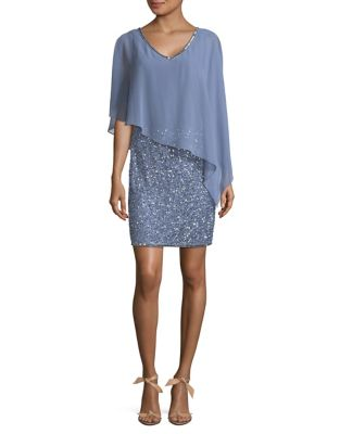 Popover Sheath Dress by J Kara