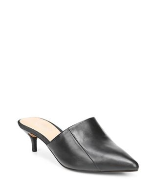 Doxie Leather Mules by Franco Sarto