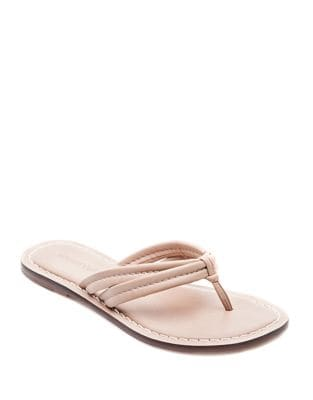 Miami Leather Thong Sandals
