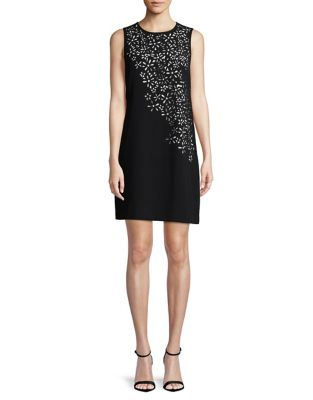 Cutout Shift Dress by Calvin Klein