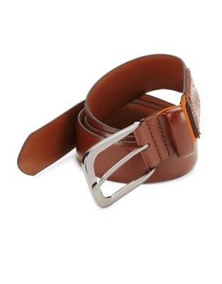 Slim Leather Belt @...