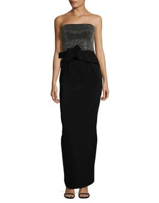Strapless Gown by Halston Heritage