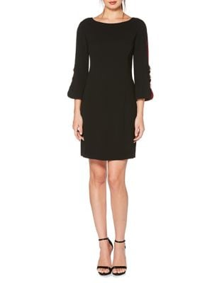Beaded Shift Dress by Laundry by Shelli Segal
