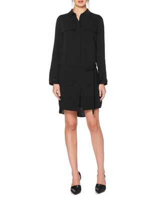 Self-Tie Shirt Dress by Laundry by Shelli Segal
