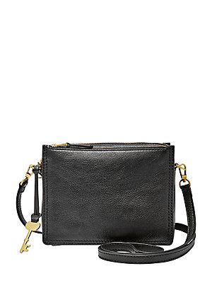 15b297fc95 Fossil - Campbell Leather Crossbody Bag