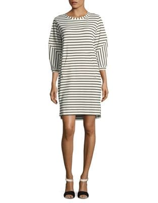 Striped Shift Dress by Gabby Skye