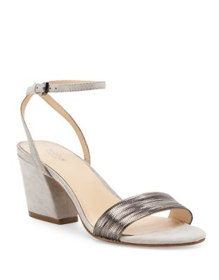 Persi Suede Ankle Strap Sandals by Botkier New York