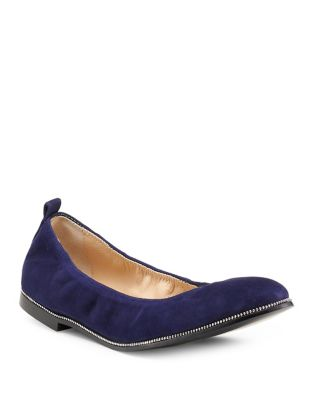 Mason Kid Suede Flats by Botkier New York