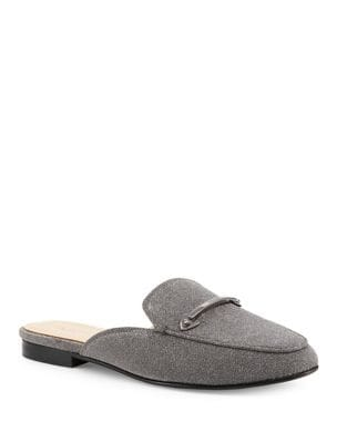 Clare Textured Leather Mules by Botkier New York