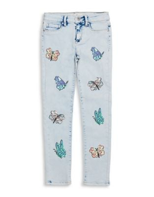 Girl's Kiss Me Skinny Jeans 500087837079
