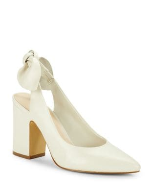 Laci Leather Slingback Pumps by 424 Fifth