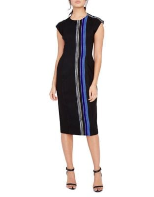 Stripe Sheath Dress by Phase Eight