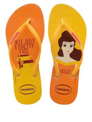 Disney Princess Belle Flip Flops 500087849722