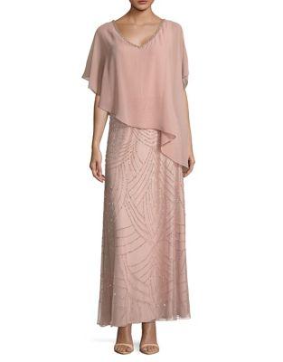 Popover Column Dress by J Kara