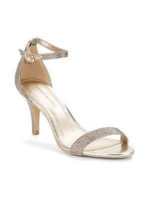 Madia Glitter Fabric Sandals by Bandolino