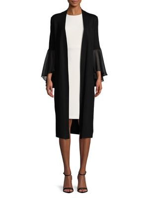 Long Open-Front Cardigan 500087855822