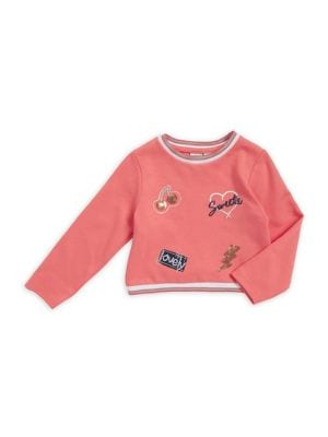 Little Girl's Patch Sweater...