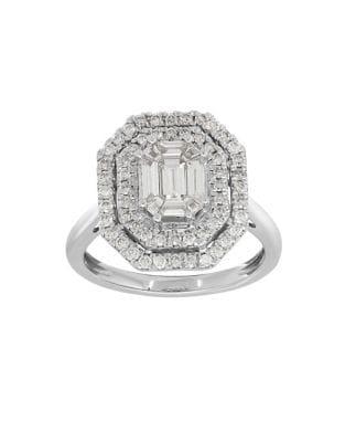 Diamond and 14K White...