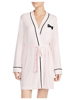 QUICK VIEW. Kate Spade New York. Bow-Detail Short Robe f9875ac1e