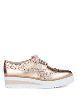 Roberta Metallic Leather...