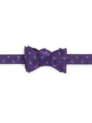 Floral Silk Bow Tie @...