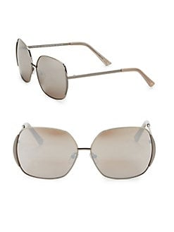 6a52290db3d Product image. QUICK VIEW. H Halston. 64MM Oval Sunglasses