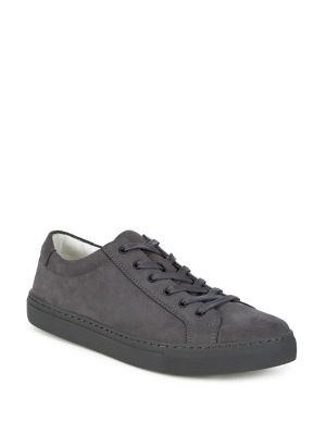 Suede Low-Top Sneakers...