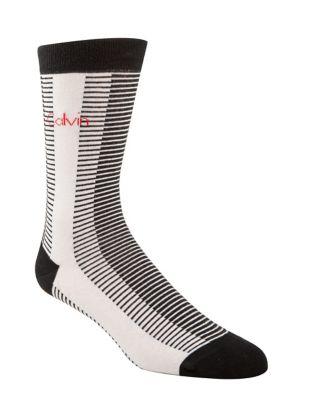 Multi-Stripe Crew Socks...