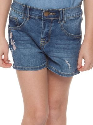 Little Girl's Denim Shorts...