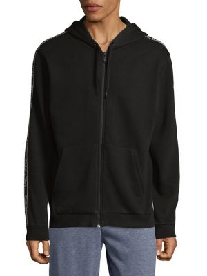 Full-Zip Cotton Hoodie...