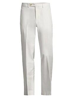 f13aa3753daa Product image. QUICK VIEW. Lauren Ralph Lauren. Classic-Fit Flat-Front  Cotton Pant