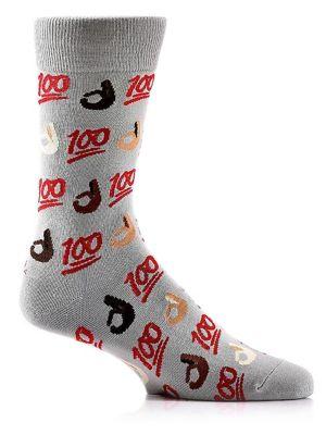 100 Emoji Crew Socks...
