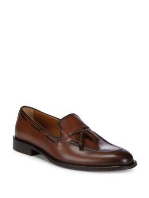 Tassel Calfskin Leather...