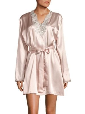 Floral Lace Robe @...