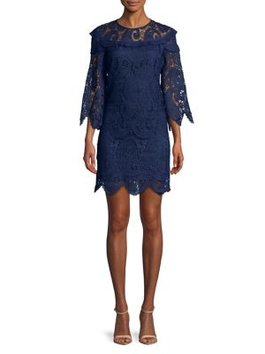 Lace Shift Dress 500087975905