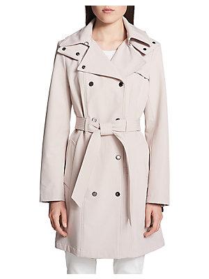 c806fbb1c9b Calvin Klein - Classic Hooded Trench Coat