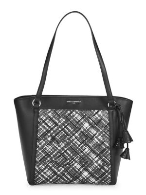 Image of Floral Willow Leather Tote