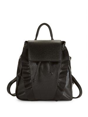 Ruffled Backpack @...