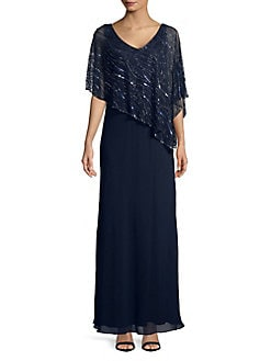 a766f070a9ed7 Product image. QUICK VIEW. J Kara. Plus Embellished Long Dress