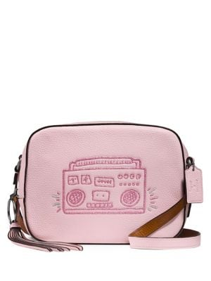 Keith Haring Boombox Leather Camera Bag 500087988728