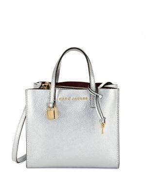 Mini Grind Leather Satchel Bag 500087988816