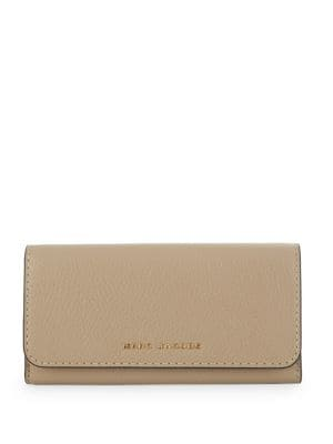 Flap Leather Continental Wallet 500087989797