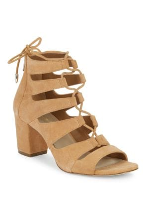 Ladonna Suede Sandals by 424 Fifth