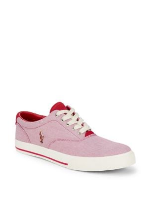 Lace-Up Low-Top Sneakers...