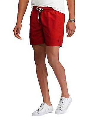 cb667a77083b5 Polo Ralph Lauren - 5.75-Inch Traveler Swim Trunks - lordandtaylor.com