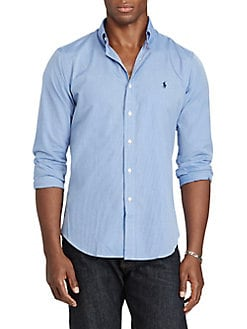 b95dc0c0261b QUICK VIEW. Polo Ralph Lauren. Classic Fit Cotton Button-Down Shirt